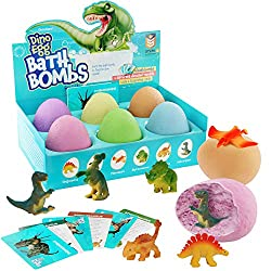3. Dan&Darci Dino Egg Bath Bombs