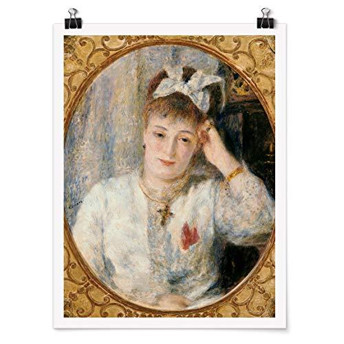 Bilderwelten Poster Kunstdruck Wanddekoration Auguste Renoir - Marie Murer Glänzend 60 x 45cm