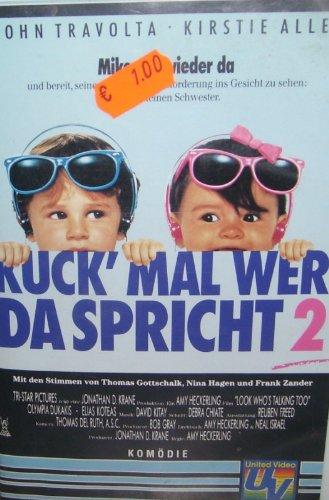 Kuck mal wer da Spricht 2 ( VHS Videokasette )
