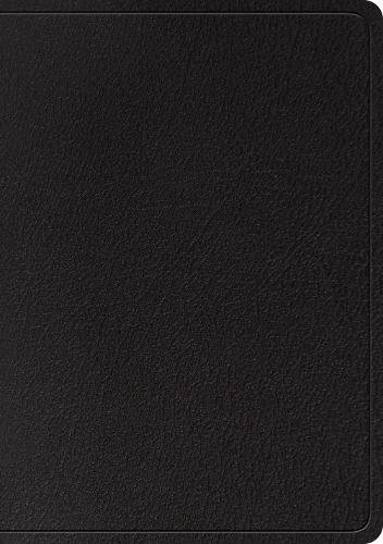 ESV Large Print Wide Margin Bible (Black)