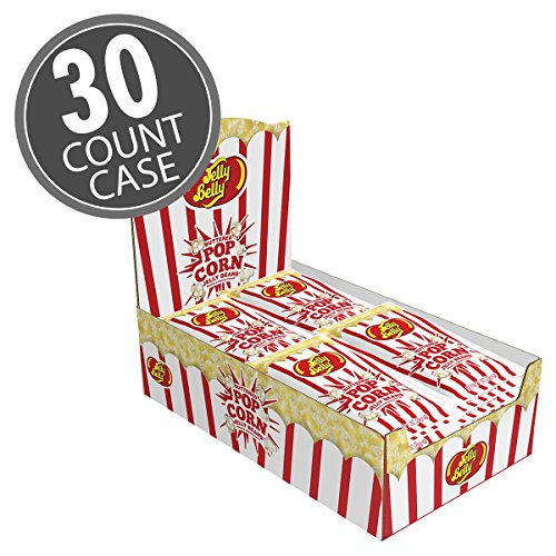 Jelly Belly Buttered Popcorn 1-oz Bags (30 COUNT CASE)
