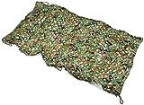 WXFCAS Camuflaje de Camuflaje, Red de Camuflaje al Aire Libre para Acampar de Caza Militar Pesca, Camuflaje de Selva Colo (Tamaño: 8 * 8M) 681