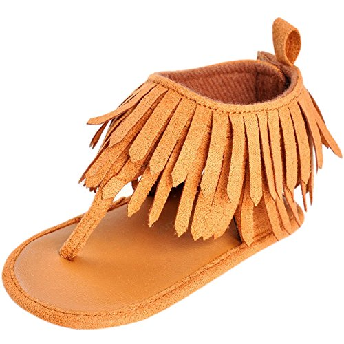 Fire Frog Baby Summer Thongs Shoes Fringed Moccasins Soft Moccs First Walkers