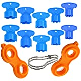 Y-Axis 12 Pack Cache Faucet Aerator Key Faucet Aerator Removal Wrench Tool for M 16.5 18.5 20 21.5 22 22.5 24 28 Cache Aerators