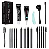 Libeauty Lash & Eyebrow Tint Dye Kit Lasting 8 Weeks for Professional Eyebrow or Lash Tinting(Black)