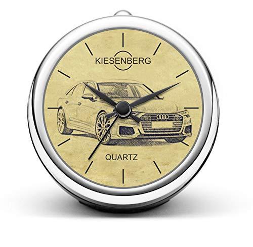 KIESENBERG Design Orologio da Tavolo Regalo per A6 C8 S Line Limousine Fan Clock T-5124