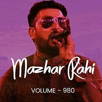 Mazhar Rahi, Vol. 980