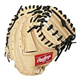 ローリングス(Rawlings) 野球用 ジュニア軟式 HYPER TECH R9 SERIES [キャッチャー用] ミットサイズ31.0 GJ1R92AFS キャメル サイズ 31.5 ※右投用