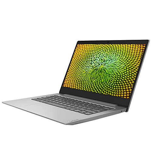 Lenovo IdeaPad Slim 1 14 Inch HD Laptop - (AMD A4, 4GB RAM, 64GB eMMC, Windows 10 Home S Mode) - Platinum Grey