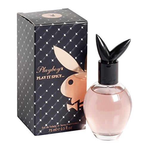 Playboy Play It Spicy 75ml Eau de Toilette Spray für Sie, 1er Pack (1 x 75 ml)