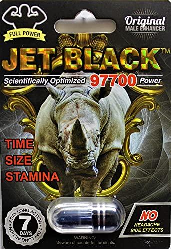 Jet Black Original Male Enhancer 4 …