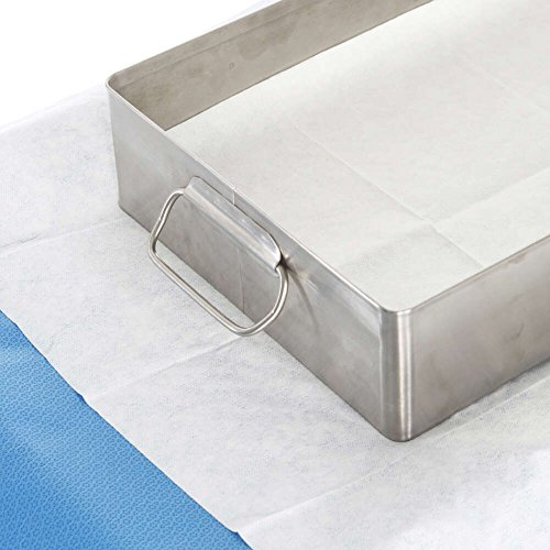 Halyard Tray Liner Towels, Absorbant, HYDROKNIT, 20 Inch x 25 Inch, 10502 (Box of 50)