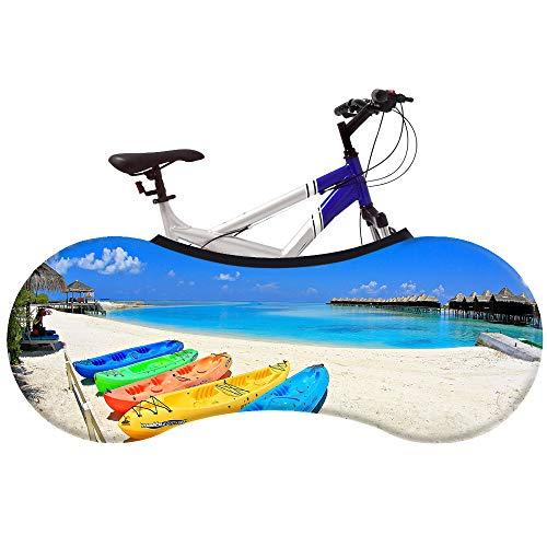 JTYX Bike Covers Universele fietshoes, voor indoor mountainbike, afdekking, fietsbroek, ketting, garage, indoor, anti-stof fietsen, opbergtas voor volwassenen