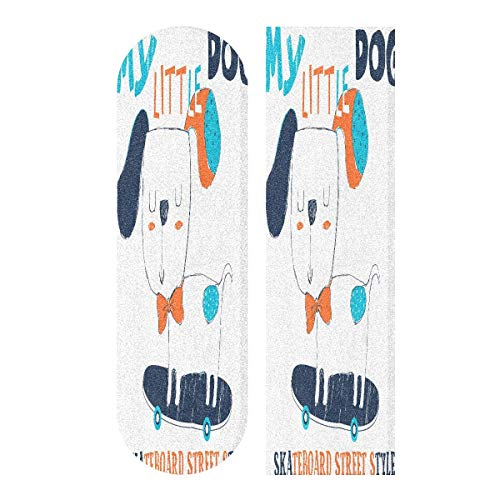 LDIYEU Skate Dog Style Wallpaper Skateboard Griptape rutschfest Selbstklebend Longboard Griptapes Aufkleber Griffband 33