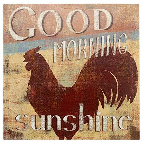 Posavasos-Set Nostalgic-Art 46013 Home y Country Good Morning 4 Teilig