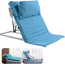 WWQY Healthcare Adjustable Comfort Medical Pillow Lifter,Power Lifting Bed Backrest Includes Electric Pump System and Mattress Pad Cover Fits Standard Hospital Bed Adjustable Comfort