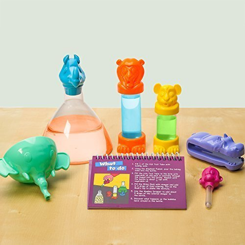 This STEM birthday gift ideas for a 4 year old girl helps her realize how fun science is!