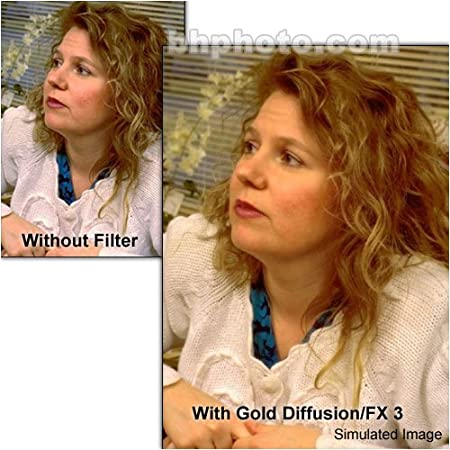 Tiffen Filter 72mm Gold Diffusion Fx 3 Kamera