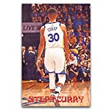 WPQL Superstar Stephen Curry Poster Wandkunst