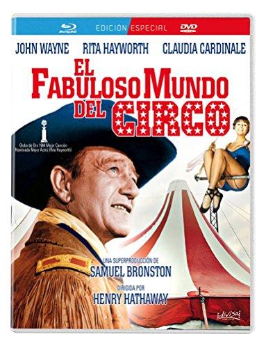 El fabuloso mundo del circo [Blu-ray]