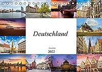 Deutschland Ansichten (Tischkalender 2022 DIN A5 quer): Einmalige Bilder quer durch das wunderschoene Deutschland (Monatskalender, 14 Seiten )