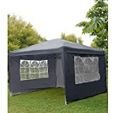WEIBO Waterproof 2x2m Pop Up Gazebo Party Tent BBQ Canopy Outdoor Awning