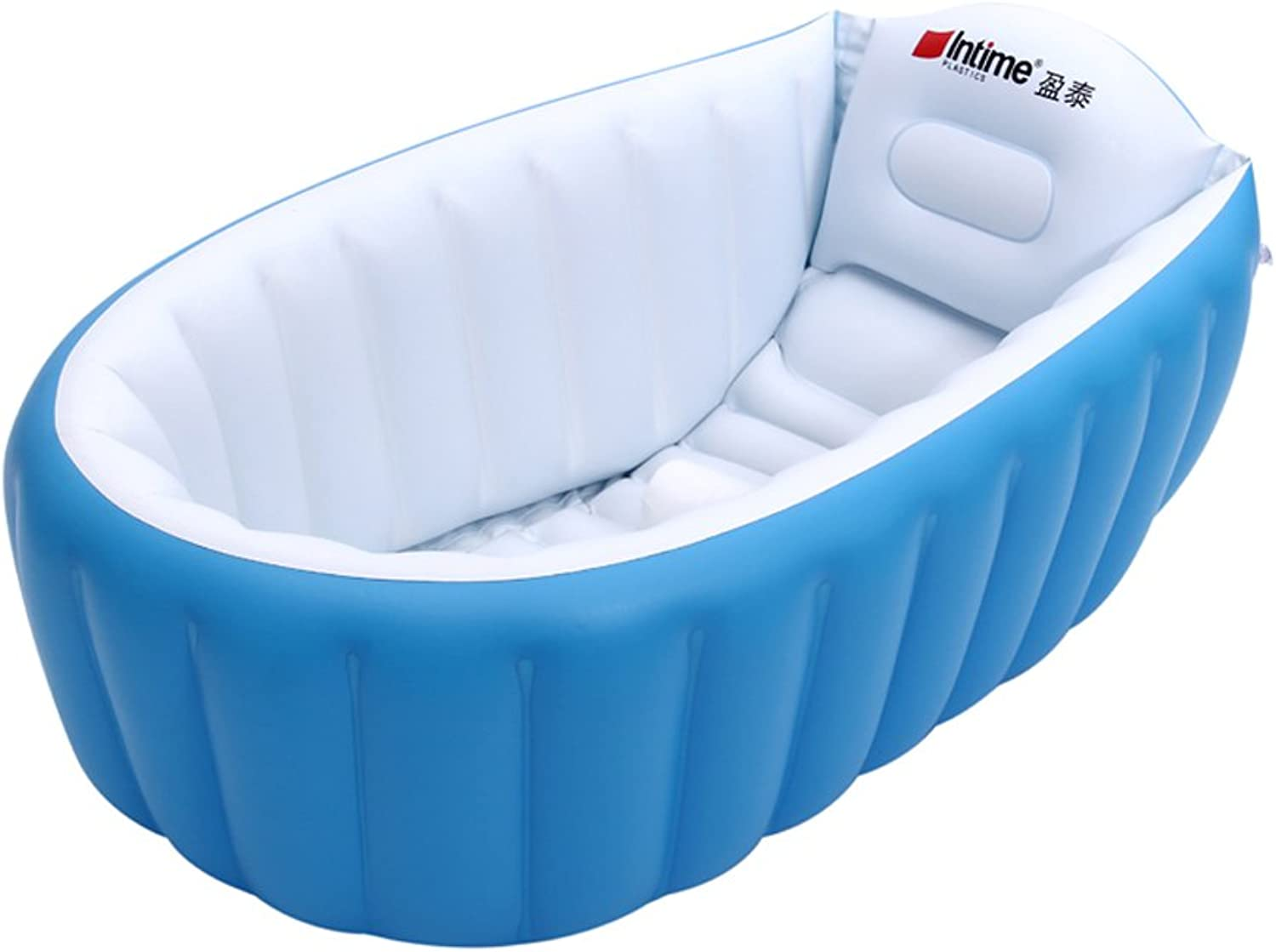 Sunjun& Baby Inflatable Tub, (0-3 Years) Baby Bath (0-3 Years), Pink, bluee ( color   bluee )
