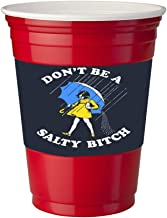 4 Pack of Vinyl Decal Stickers for Disposable Cups/Don't Be a Salty Bitch