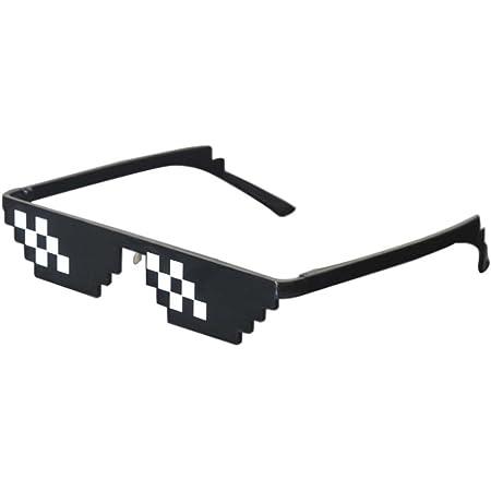 Thug Life Sonnenbrille Coole Sun Glasses Unisex Sonnenbrille Rot Gangster Brille