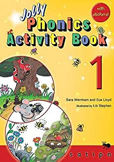 Jolly Phonics Activity Book 1: in Precursive Letters (British English edition) by Llyod