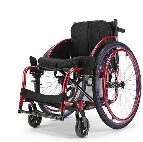 Oudere mensen met een handicap sport rolstoelen draagbare inklapbare transportrolstoel ergonomisch, Y-L
