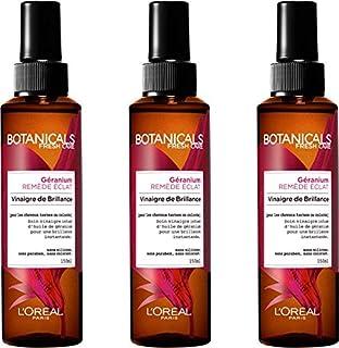 Cuidado Botanicals con vinagre de brillo remedio para brillo sin aclarado para pelo dañado/con color 150mlLote de 3