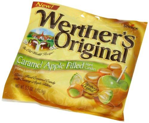Werther#039s Original  Caramel Apple Filled Hard Candies  Net Wt 55 OZ 1559 g  Pack of 2