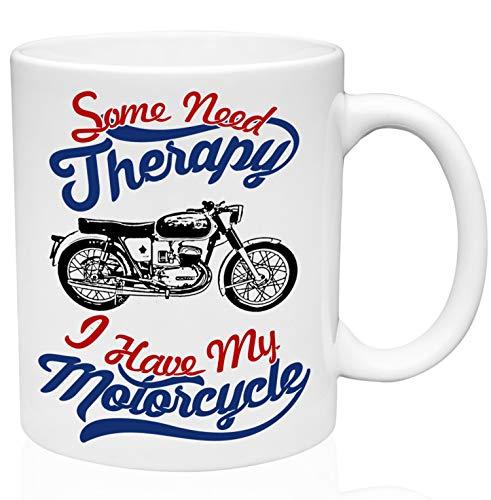 Bultaco mercurio 155 motorcycle therapy 11oz Taza de café de cerámica de alta calidad