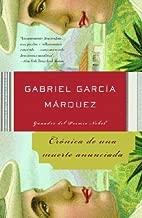 Cronica De Una Muerte Anunciada / Chronicle Of A Death Foretold **ISBN: 9781400034956**