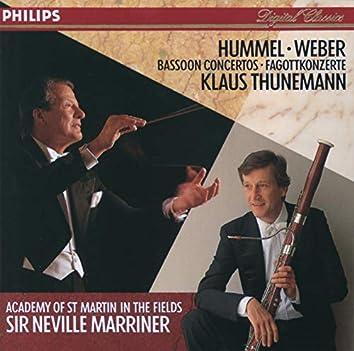 Hummel / Weber: Bassoon Concertos