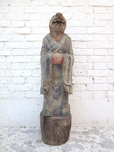 Chine sculpture statue cochon horoscope buddhistisch peuplier luxury park de 100 ans