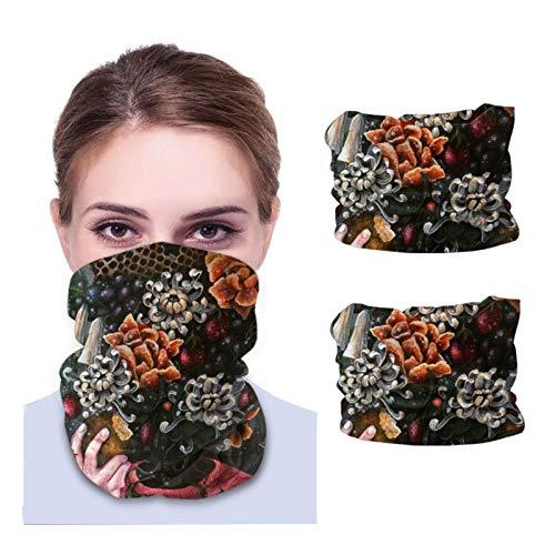Lawenp San Holo Effloresce 2 Pcs Multifunctional Bandanas Balaclava Anti Dust neck Face Scarf