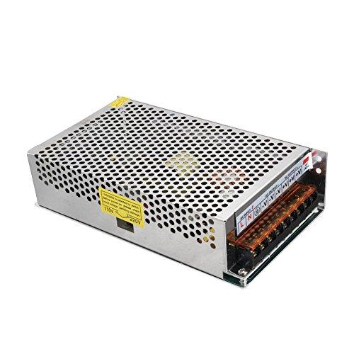 Alftek Schaltnetzteil AC zu DC 48V 5A 240W Metallgehäuse Spannungswandler für LED-Streifen Licht