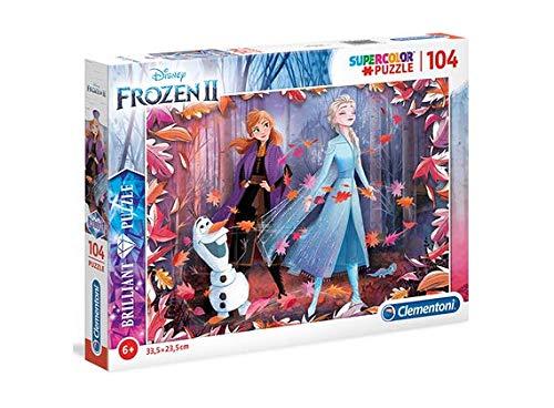 1617 ディズニー アナと雪の女王2 ジグソーパズル パズル 104ピース  Disney Frozen2 Puzzle [並行輸入品]