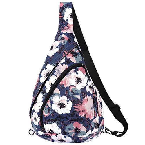 Perselief Lightweight Crossbody Backpack Crossbody Backpack for Teen Girl Women