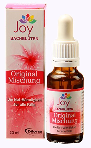 Originalmischung nach Dr. Bach - Bachblüten Komplexmittel, 20 ml Stockbottle