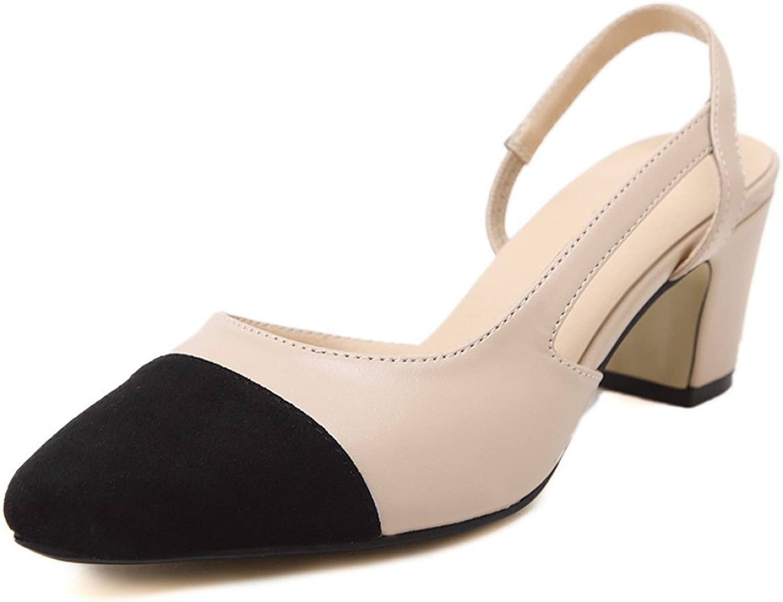 High Heels Sling Zurück Sexy Block Heel Sandalen Für Frauen Kleid Prom Schuhe Damen Schne Geschlossene Pumpen