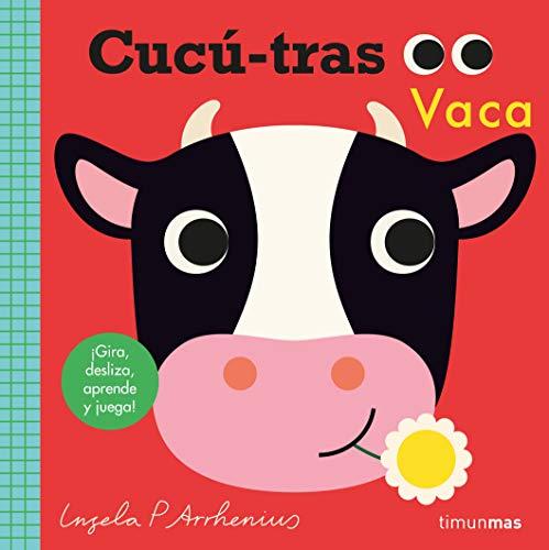 Cucú-tras. Vaca: ¡Gira, desliza, aprende y juega! (Libros con mecanismos)