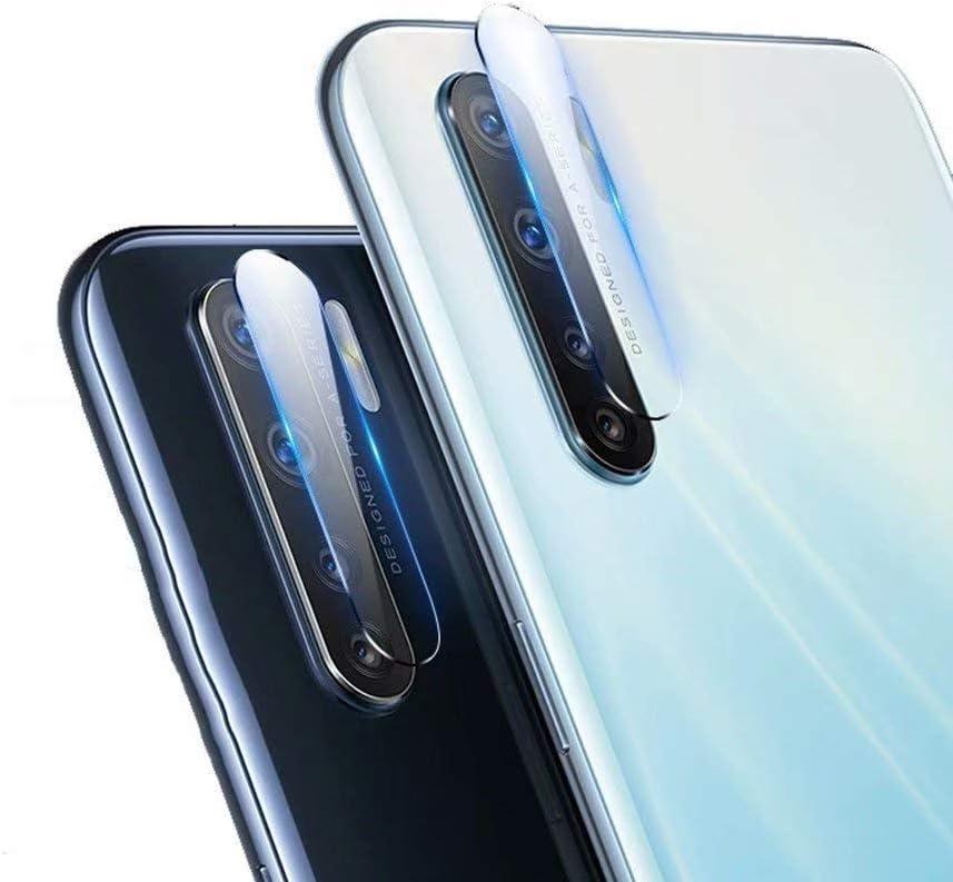 غشاء واقي لعدسة الكاميرا من FTRONGRT لهاتف Samsung Galaxy M42 5G، شفاف، رفيع جدًا، مقاوم للخدش، طبقة واقية من الزجاج المقوى الناعم لهاتف Samsung Galaxy M42 5G-2