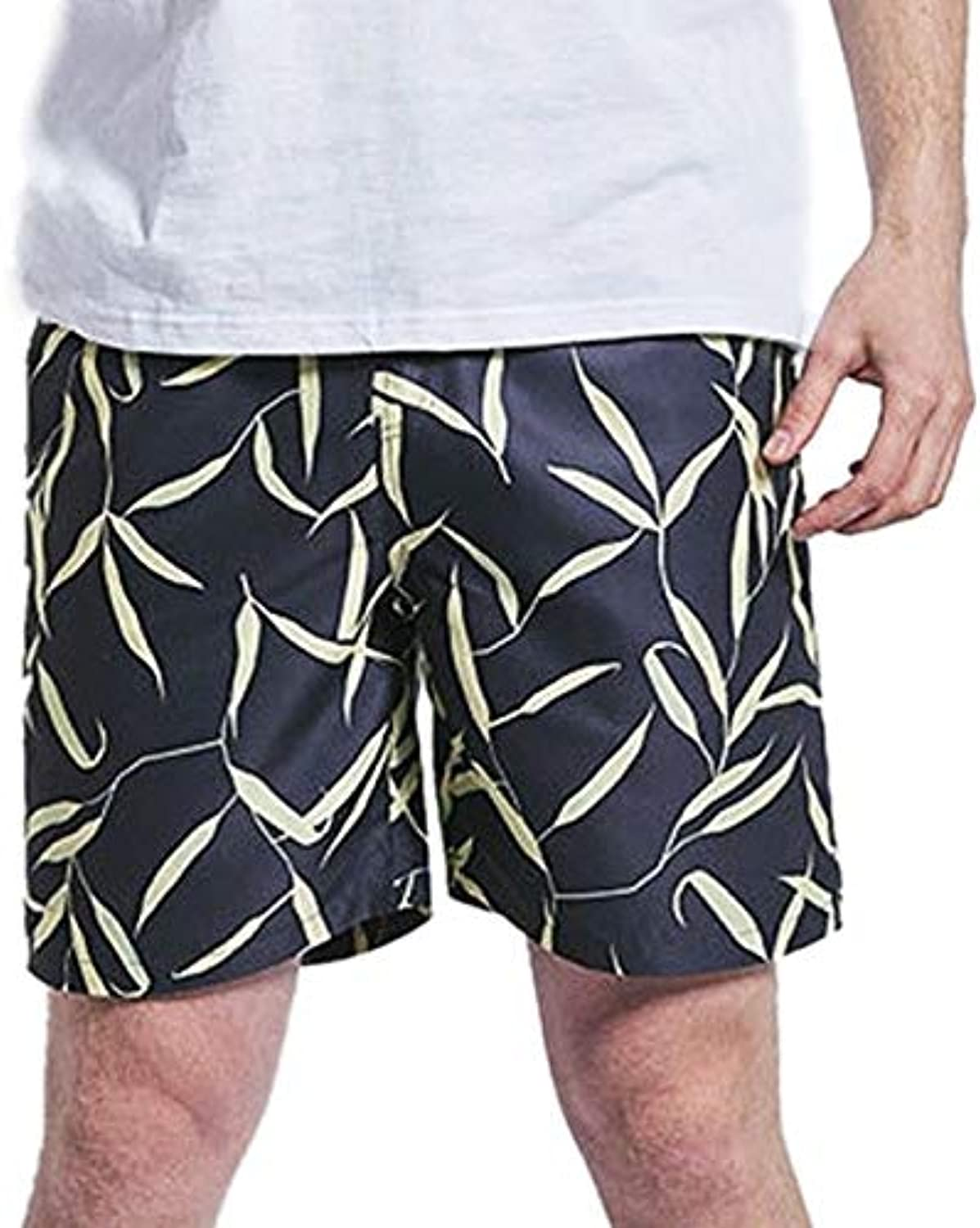 35889226f3 Men Swimwear surf Sing Trunks Male Liner Bathing Suits Drawstring Quick Dry  Swimsuits Size Shorts YL Multicolor, M, United States Beach Loose ...