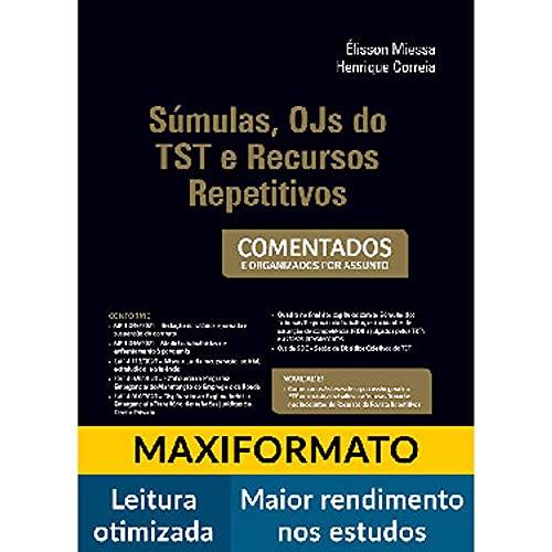 Sumulas, Ojs Do Tst Recursos Repetitivos - 09Edição 21