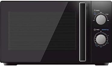 Silva-Homeline MW-G 20.5 - Microondas (36 cm, 700 W, 1000 W, 20 l, 5 niveles de potencia, color negro