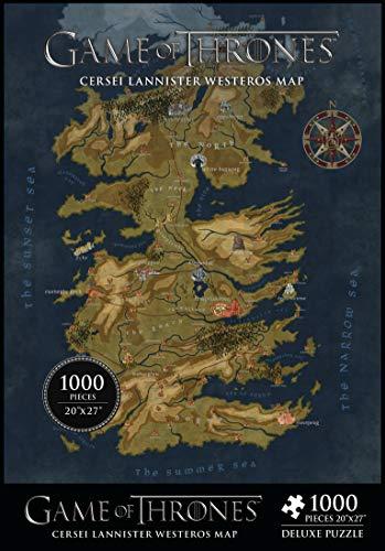 Game of Thrones- Puzzle, Colore Vario, Taglia unica, APR180093