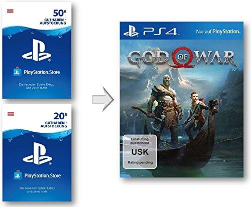 God of War 4 PSN Guthaben Aufstockung | PS4 Download Code - österreichisches Konto